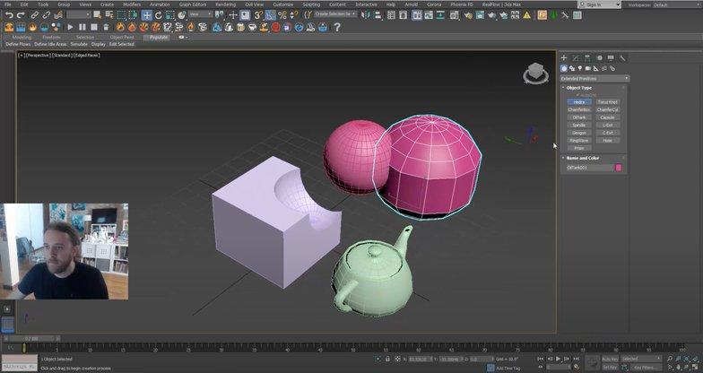 3ds max simulation lab website program tutorial help