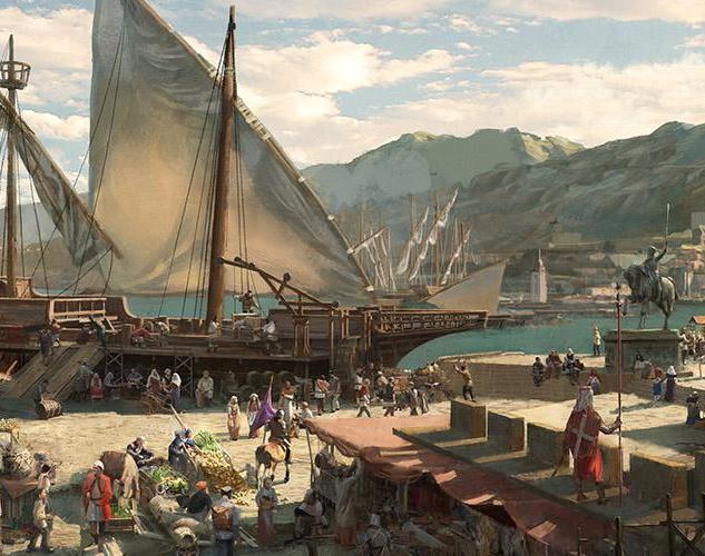 Medieval Port (better resolution)by Hidehisa Miyagawa