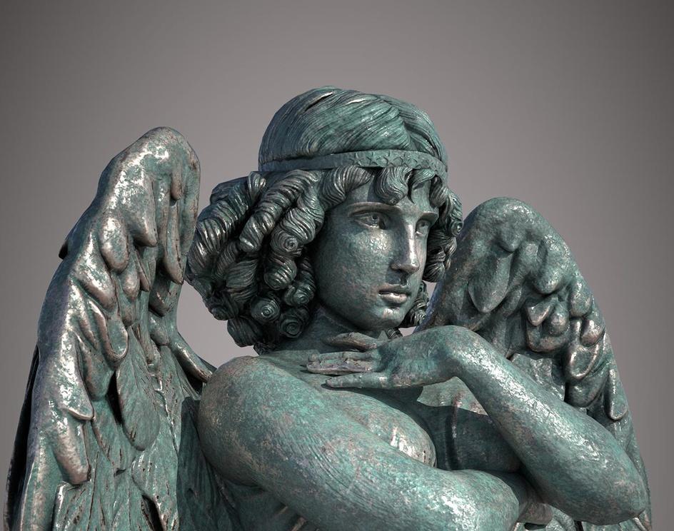 Bronze statueby Javier Benver