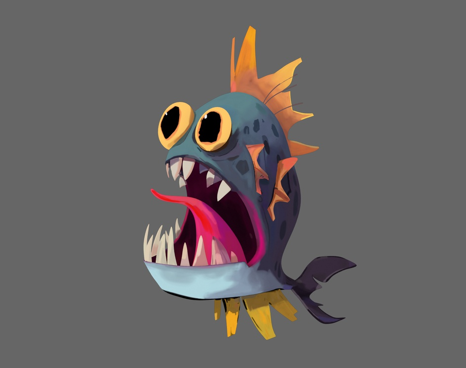 3D Weird Fishby Arthur Sarah