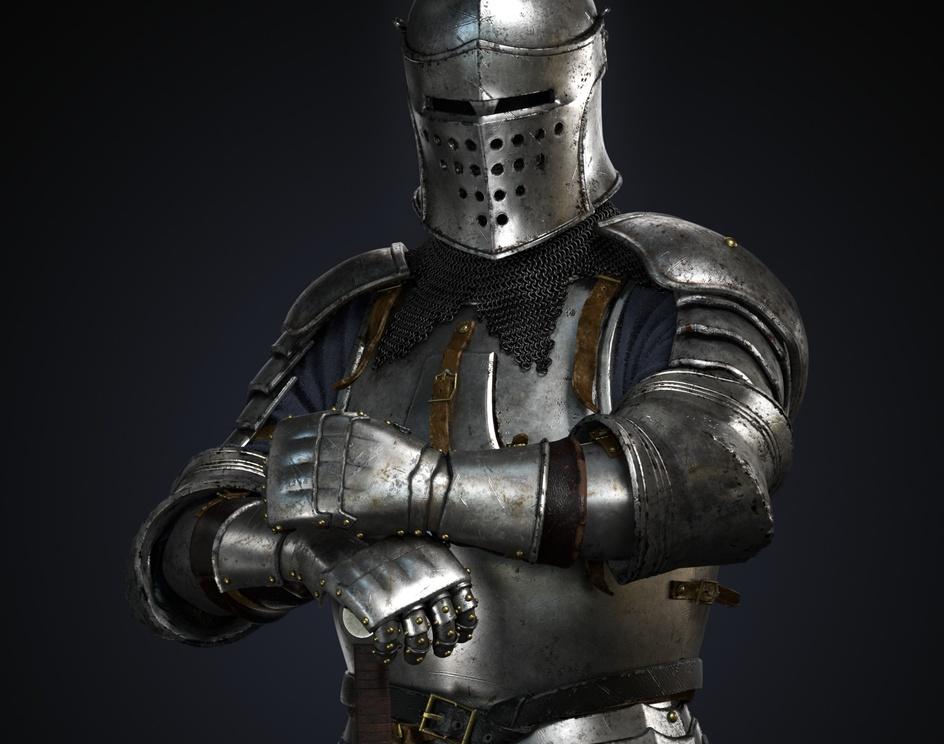 Medieval Knightby Alex Byun