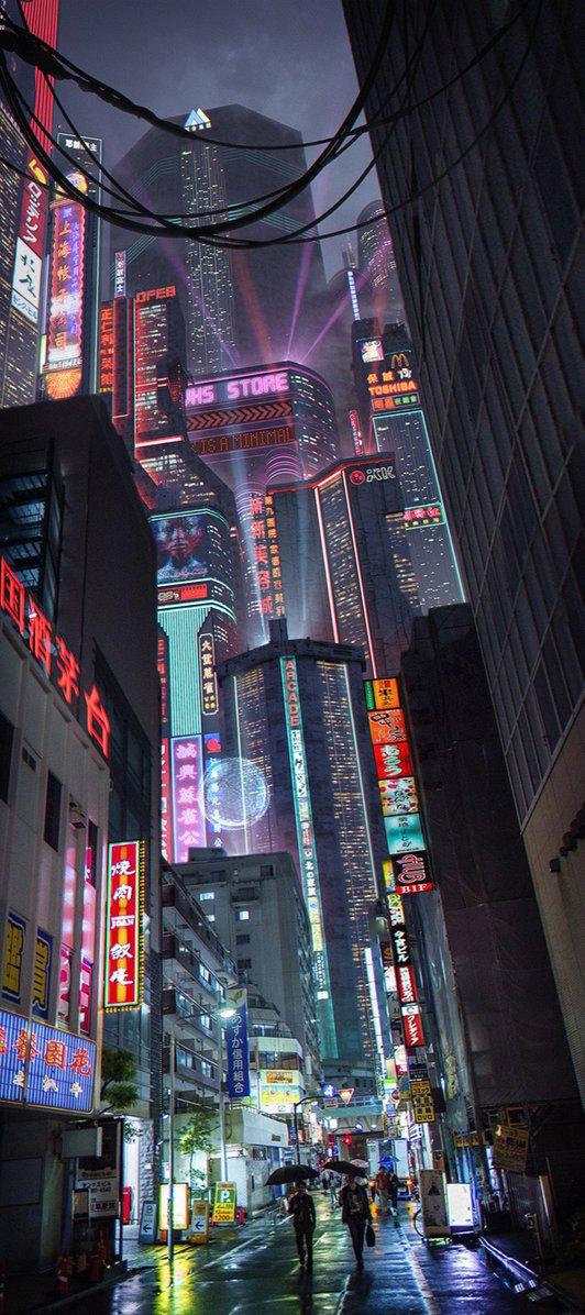 Cyberpunk neo tokyo