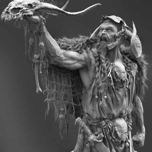 warhammer 3d model digital sculpt