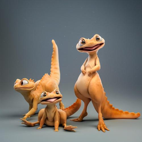 salamander lizard 3d creatures