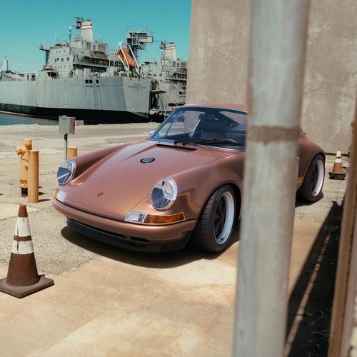 car setting photography advert 3d model render