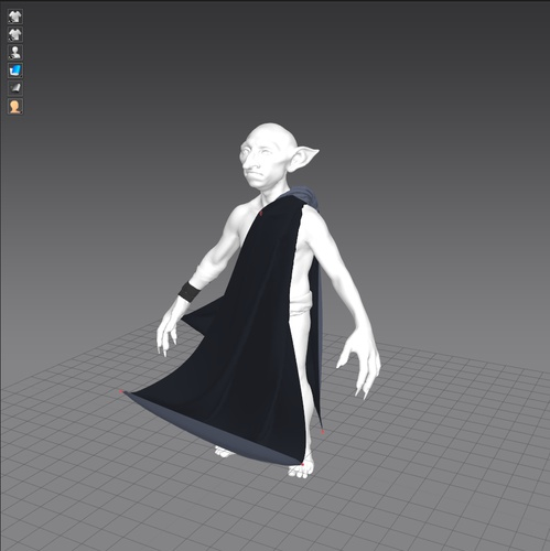 fabric creation modeling fantasy wear detailed render