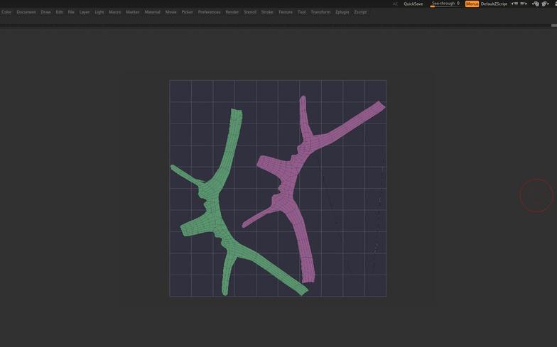 uv model texturing