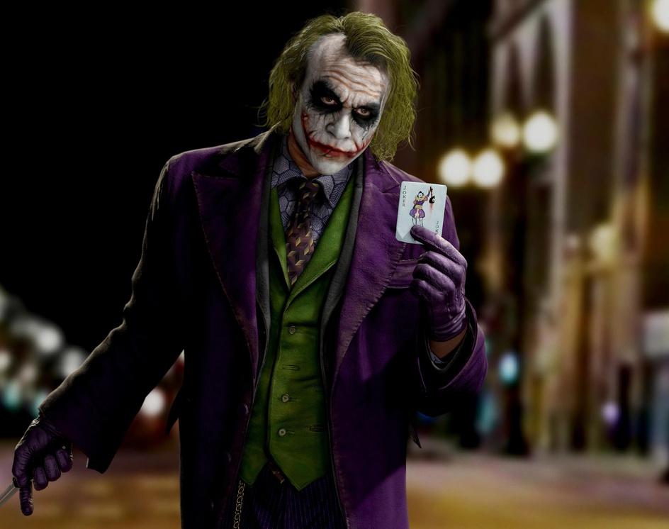 Joker (Heath Ledger) _ Real timeby Hossein_Diba