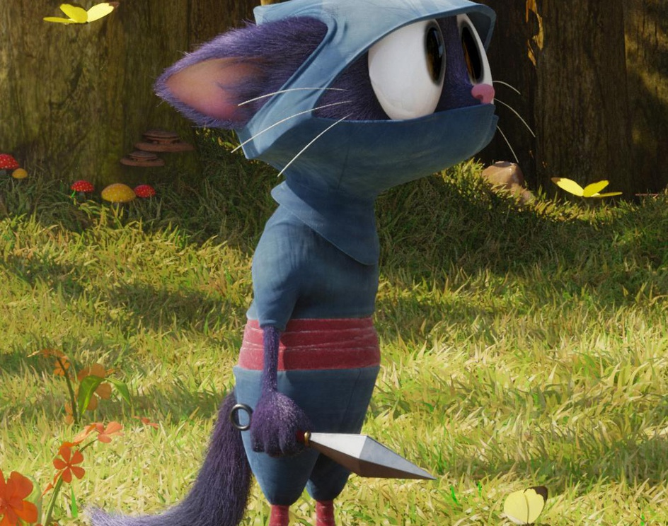 Worthless Ninja Catby Manuel De Jorge