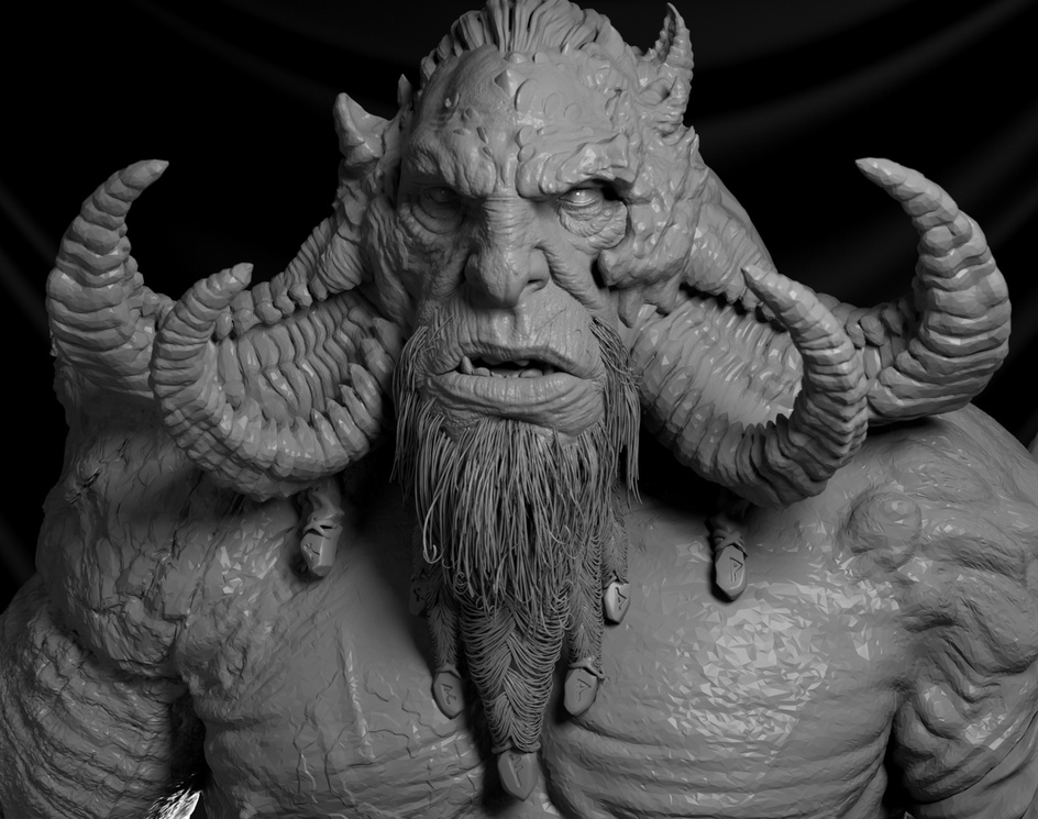 God of War - Fire Troll Fanartby Patrick Garcia
