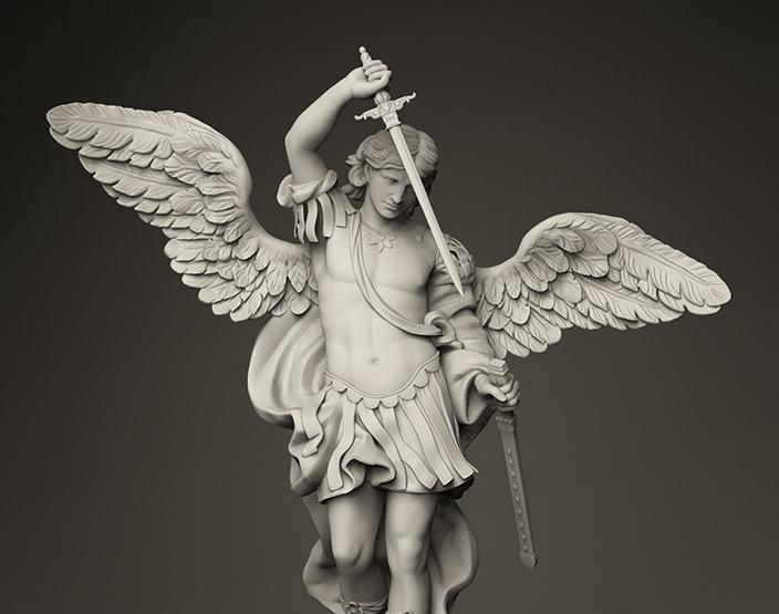 Archangel Michaelby grinnt