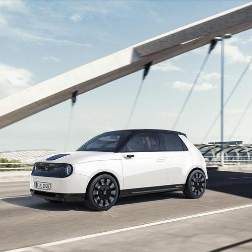 honda e car project 3d advertisement