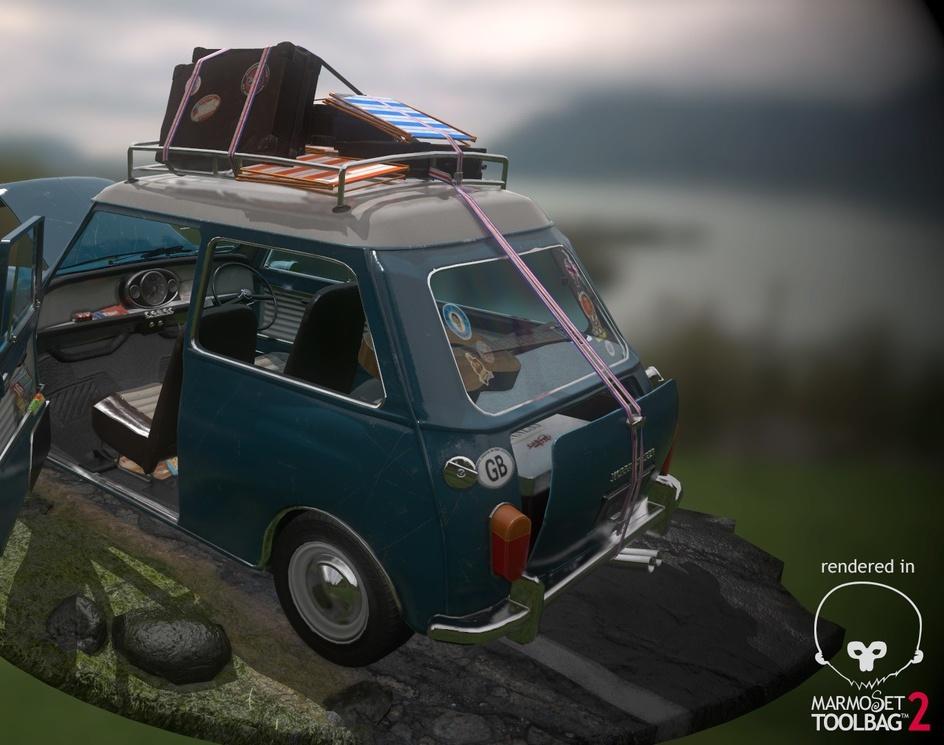 Morris Cooper S / Austin Mini / MK1by niouhop