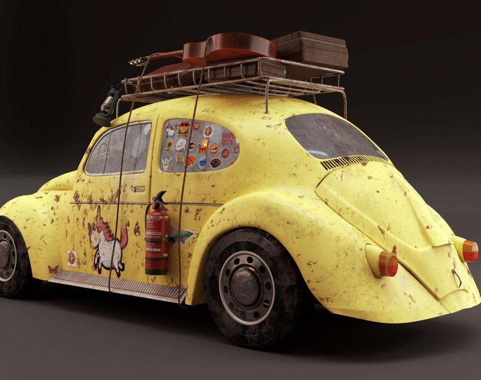 Volkswagen beetle Get outby Baker awad