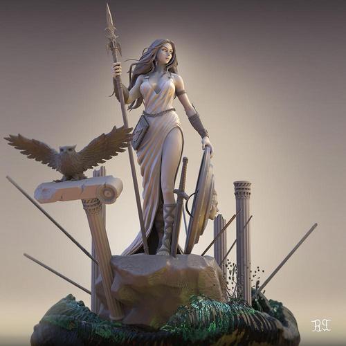 Greek mythology goddess Athena