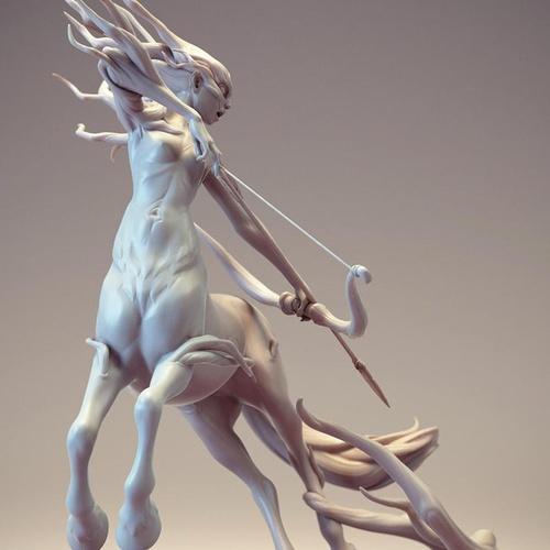 Greek mythology centaur hybrid creature