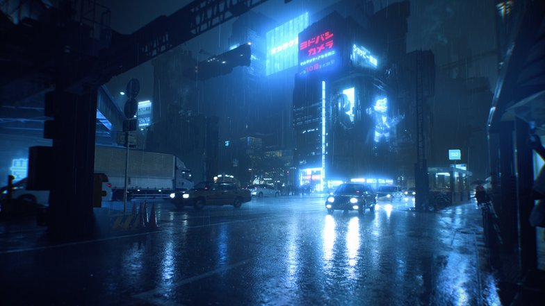Cyberpunk Sci-fi Japan