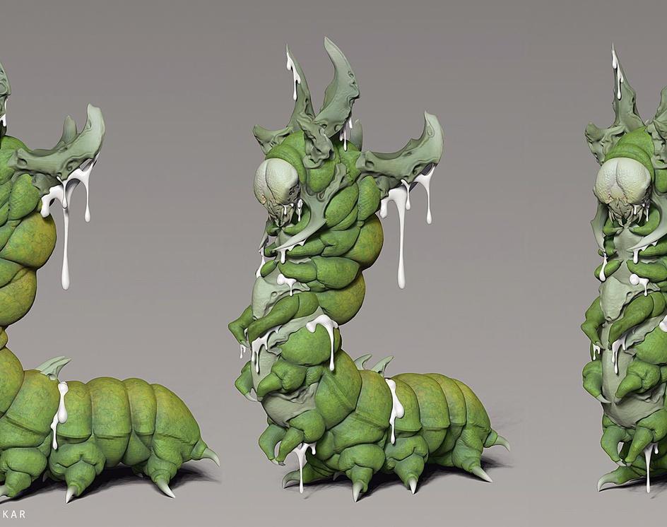 caterpillar kingby kiarash.tamizkar