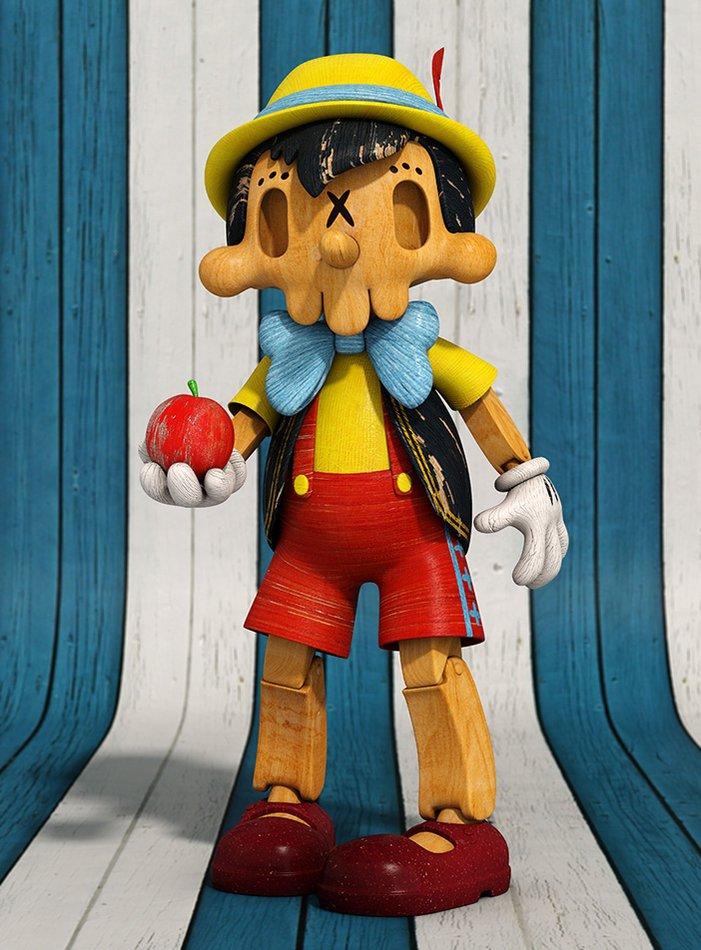 Skull Pinocchio
