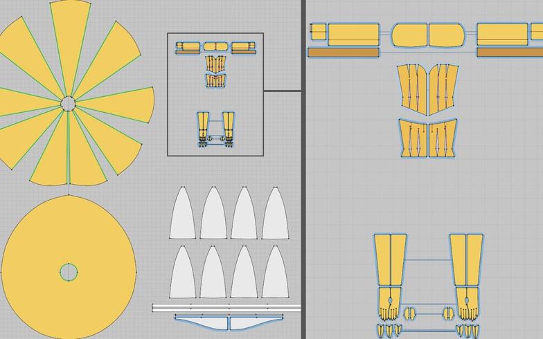 marvelous designer patterns 3d model planning