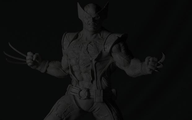 marvel wolverine statue