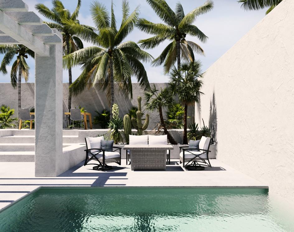 Outdoor Furniture Render | DEER Designby DEER Design