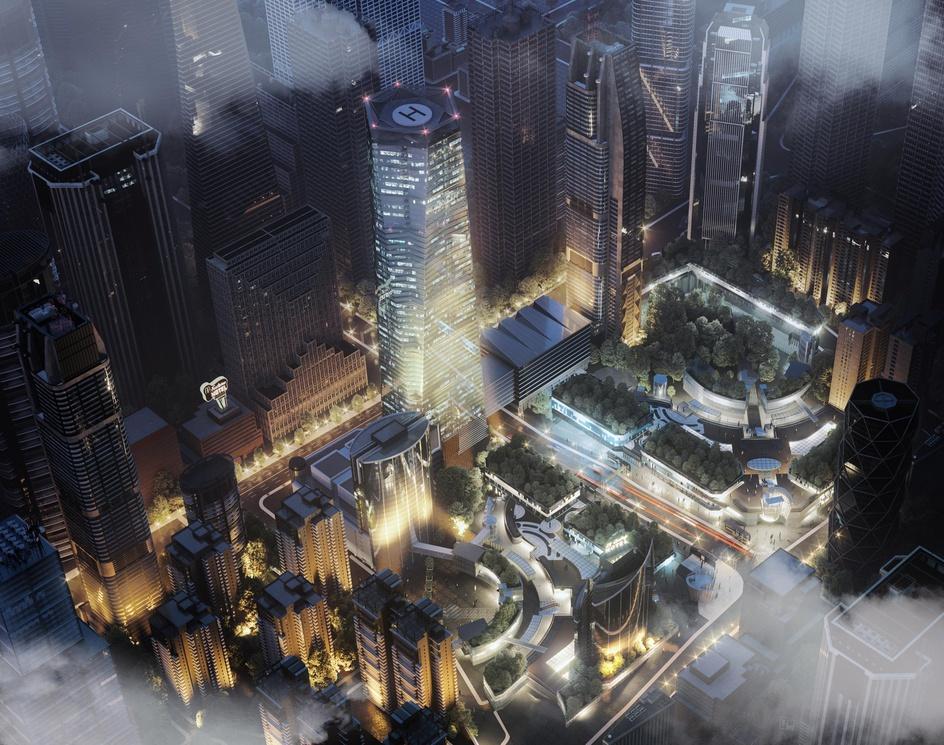 Galaxy Towersby mohsen hashemi