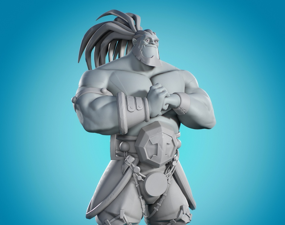 Strong man (Real-time Game Model)by Luís Negrão