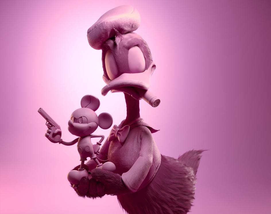 Donald Duck Found A Treasureby Gal Yosef