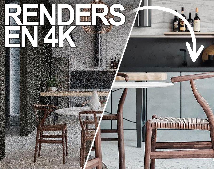 Como hacer renders en 4K en la mejor resolución en 3Ds Maxby Amazing Renders
