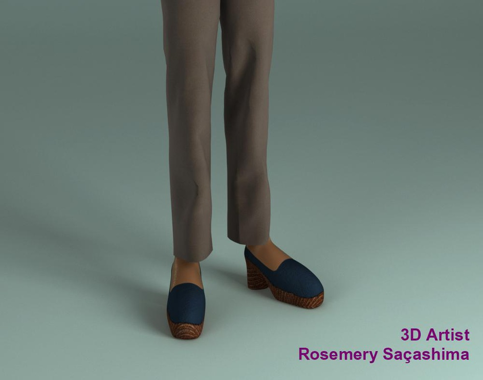 3d character : Marcyby Rosima
