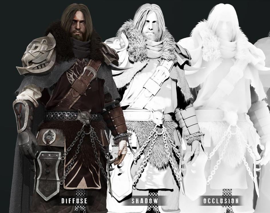 Norse warrior - Zbrush - Render passby MarcelloZibetti