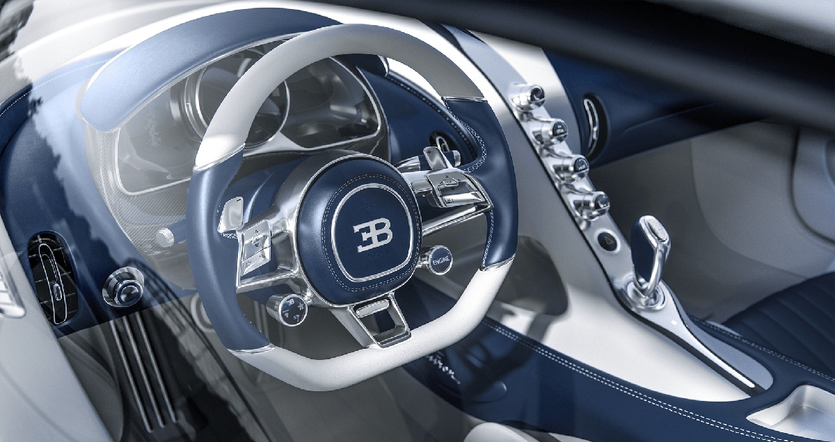 car interior 3cgi editing