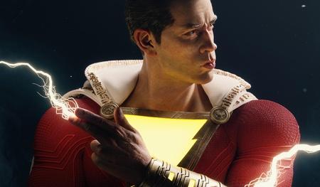 shazam dc comic book character fanart muscle superhero