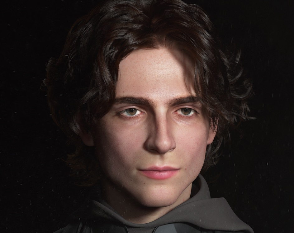 Paul Atreides by Timothée Chalamet in the movie DUNE.by Dongyoung Hwang