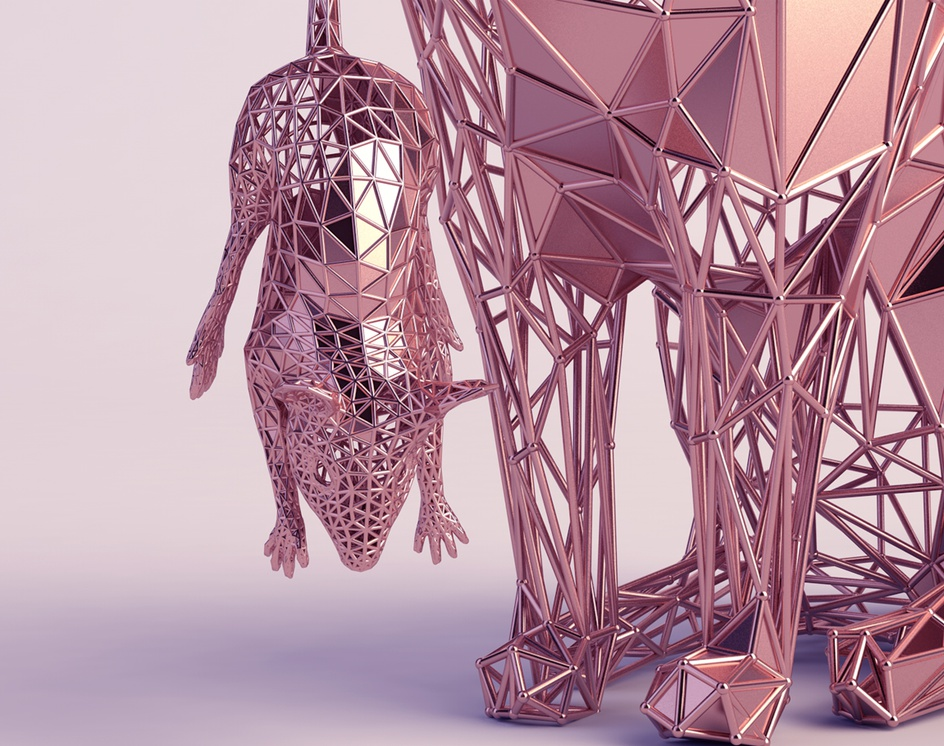 Rose Gold Creatures 1by Mohammed Alzahrani
