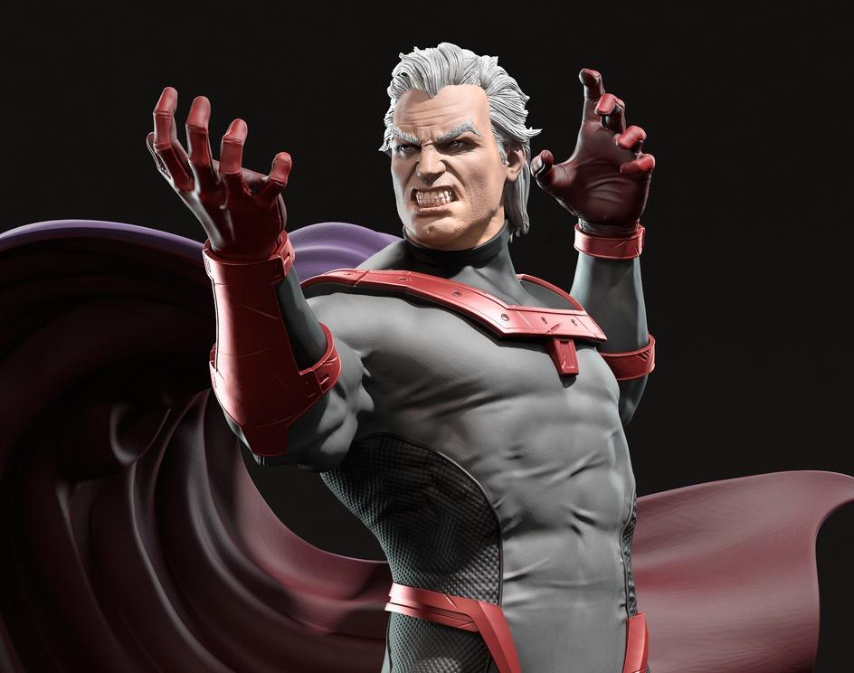 Magneto - Fan Art for 3D Printby Elton Souza