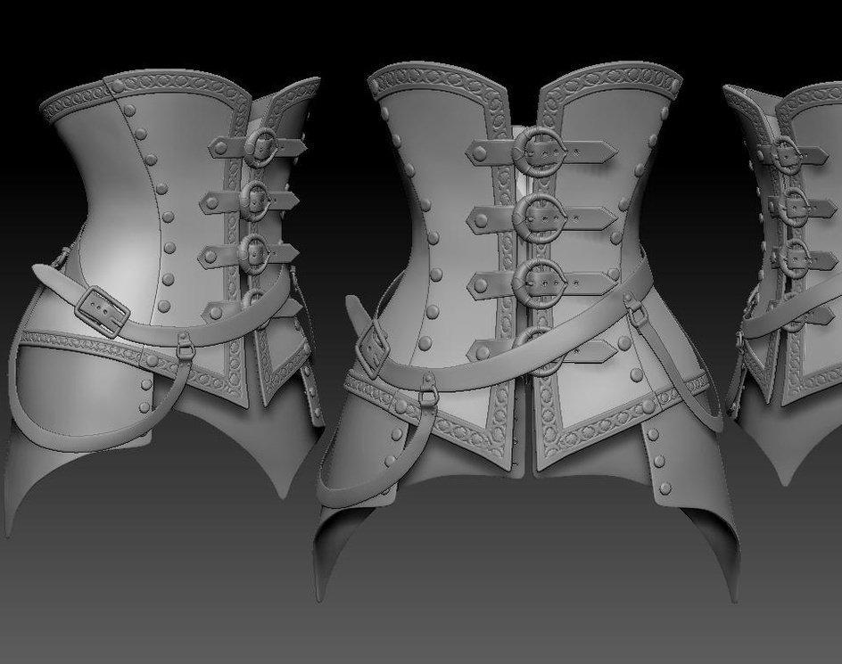 steampunk corsetby mohamad-m-r-e