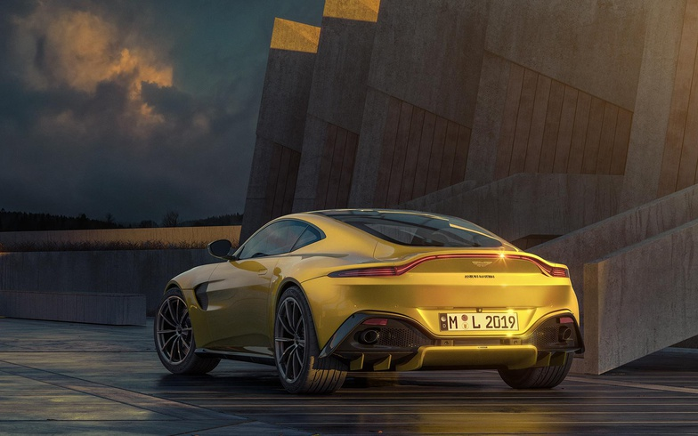 CGI Aston Martin car