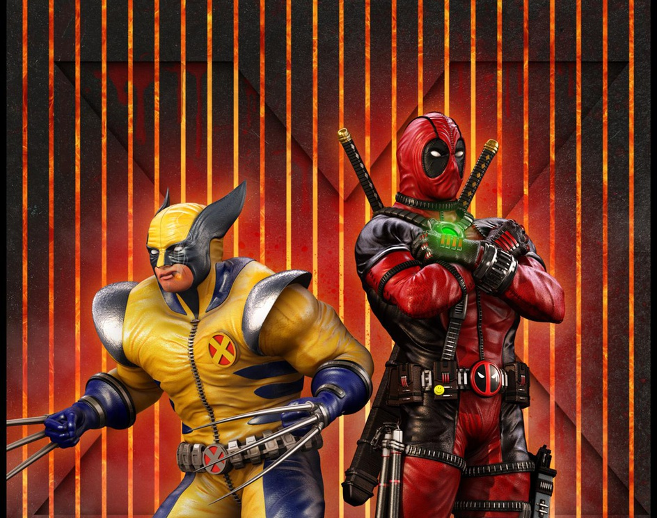 deadpool and wolverine team_upby Marc Mons