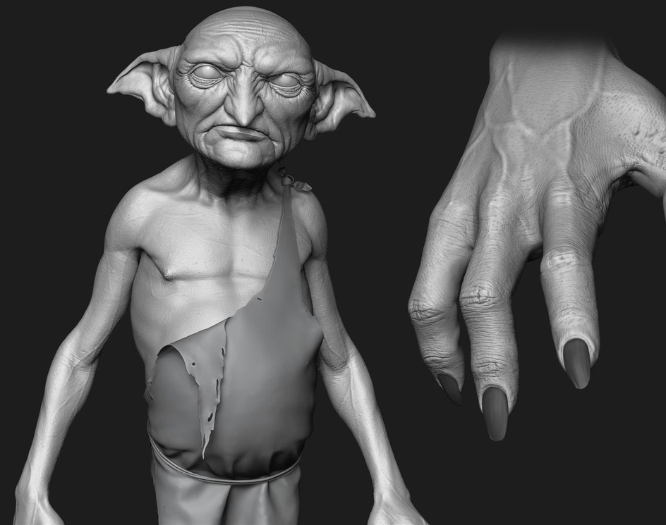 House ELf Hands by Driell Gomes