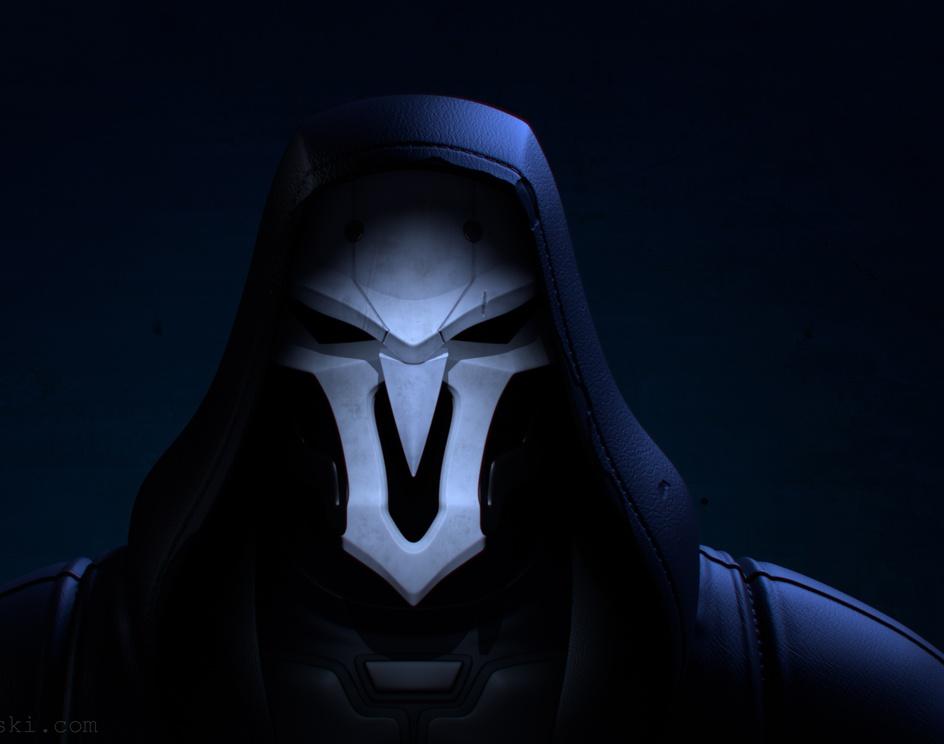 Overwatch Fan Art - Reaperby Danielgog