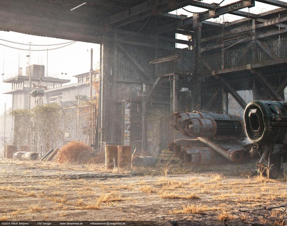 Old Hangarby MilosBelanec
