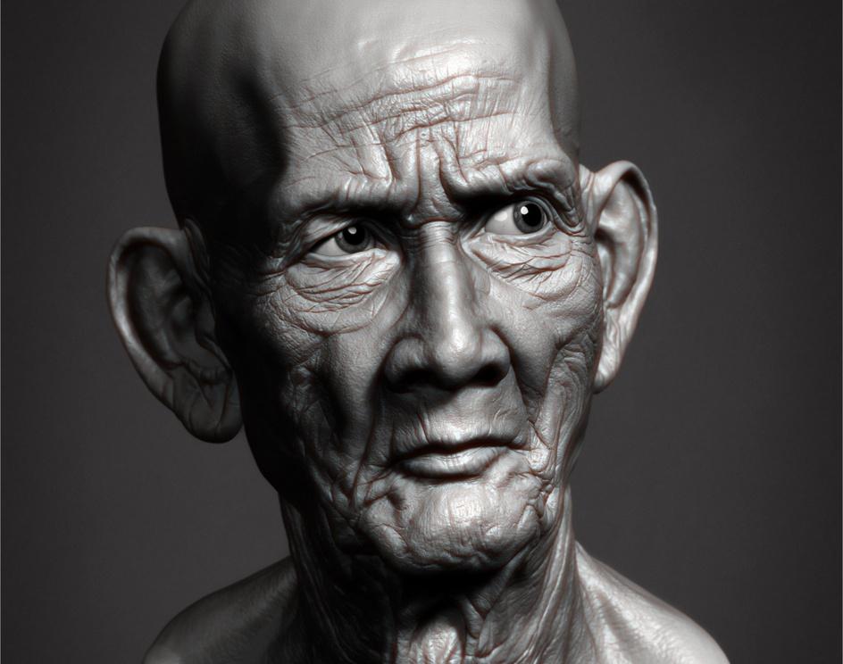 Cambodian Monk's Headby artofillusionist