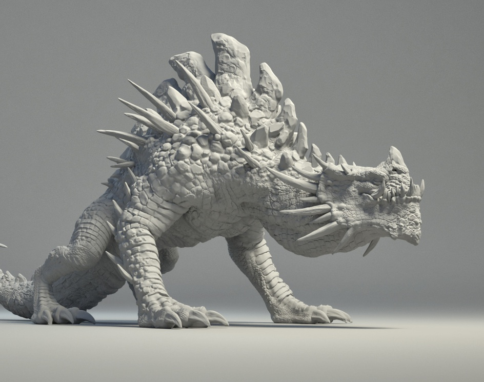 Sand Dragon Displacementby Klowell