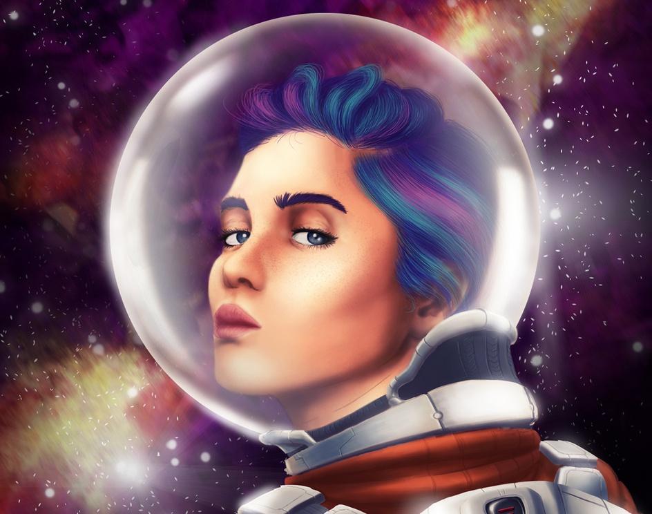 Space Womanby Walkarch