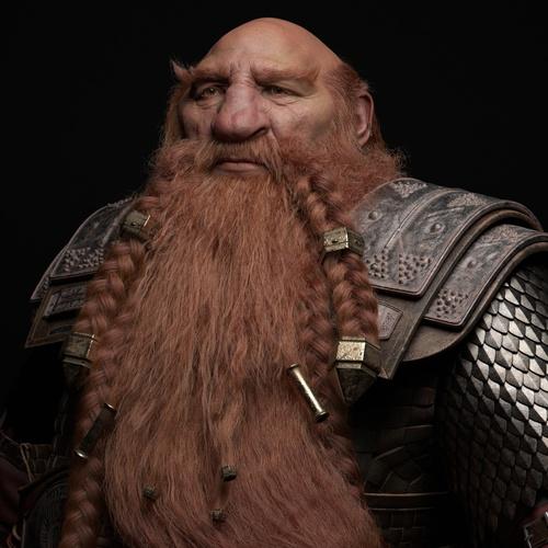 magni dwarf iron warrior metal character