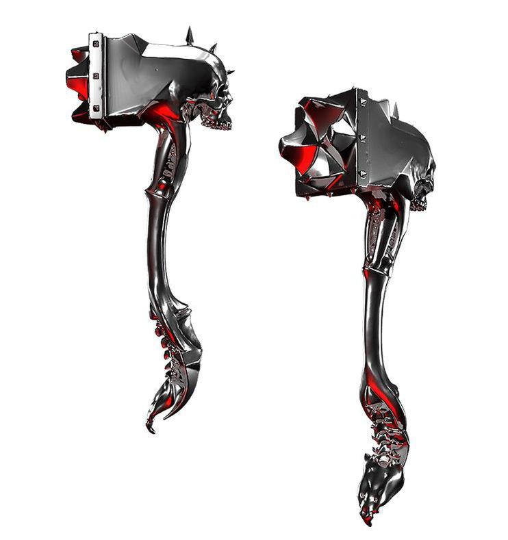 Alexandr Novitskiy fantasy skull warhammer detailing