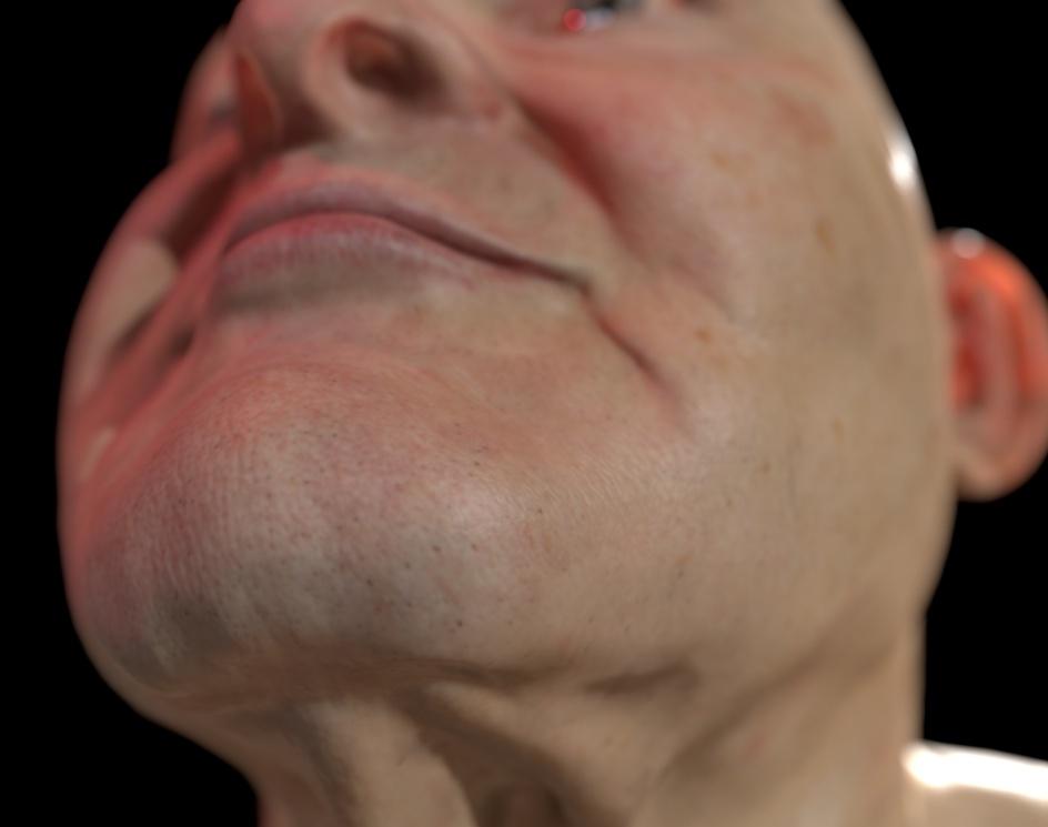 Old man that is patient in VR simulationby Viktor Ardeljan