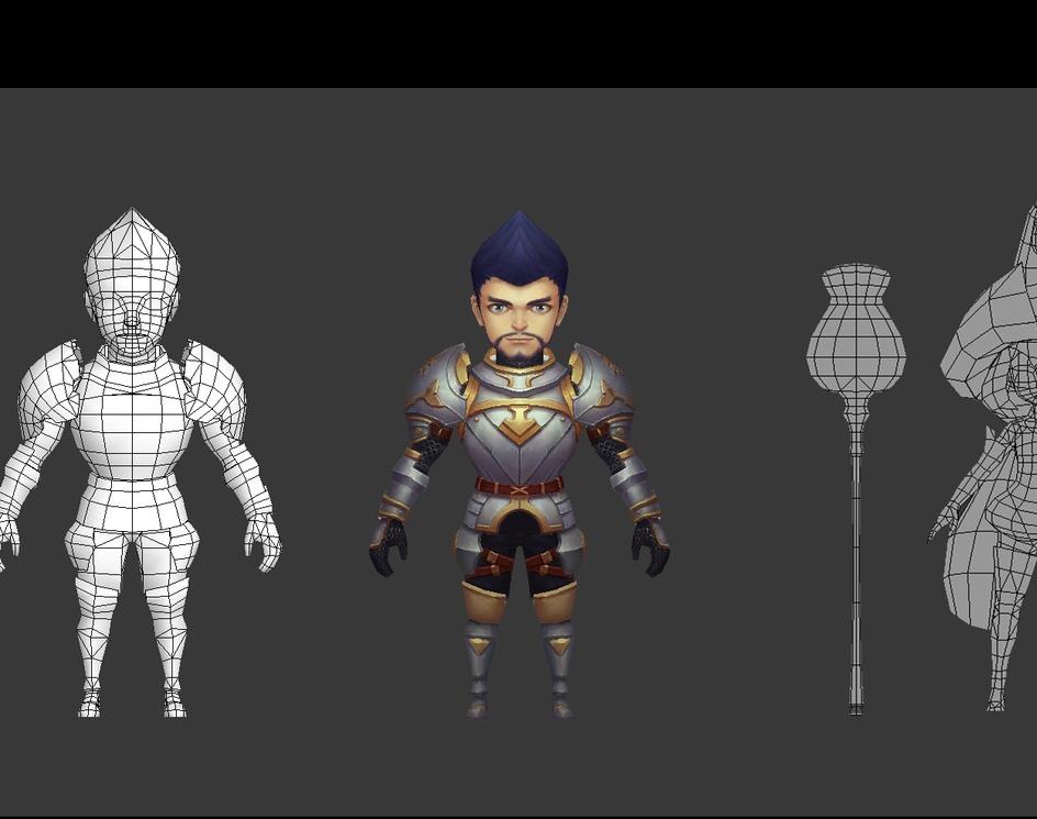 Fighters - Q Versionby Dragon CG